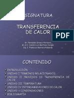 Diapositivas Transferencia de Calor Unidad i