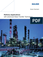 Refinery Applications With Advanced Mass Transfer Technology