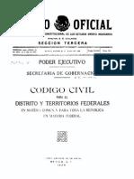 Código Civil 1928