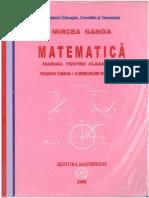 Matematica Manual Pentru Clasa IX a Mircea Ganga PDF