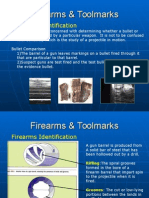 Firearms Toolmarks