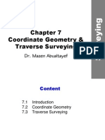 Coordinates and Traverse