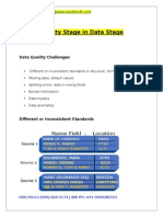 Quality Stage in Data Stage