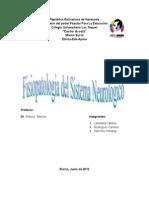 Trabajo Fisiopatología Del Sistema Nervioso