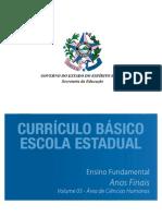Curriculo Basico Estadual 2009
