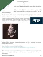 Definición _ Semiología y Análisis Del Discurso