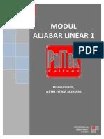 Modul Aljabar Linear 1