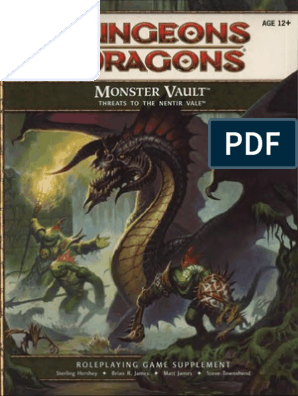 D&D 4th Edition - Monster Vault Threats to the Nentir Vale pdf