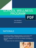 school wellness presentation