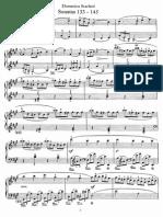 Scarlatti Sonates 133-145
