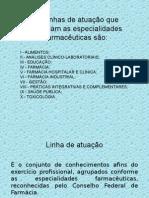 atribuições e competências do profissional farmacêutico