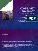 1 Community Pharmacy