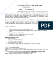 ecf 40s - course outline