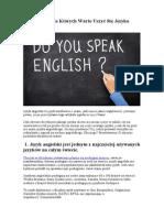 10 Powodo w dla Kto rych Warto Uczyc Sie Jezyka Angielskiego - Szkoła Jezykowa Warsaw School of Languages