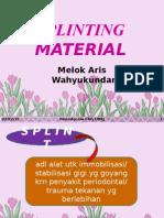 Splinting Material
