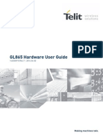 Telit GL865-DUAL-QUAD Hardware User Guide r7