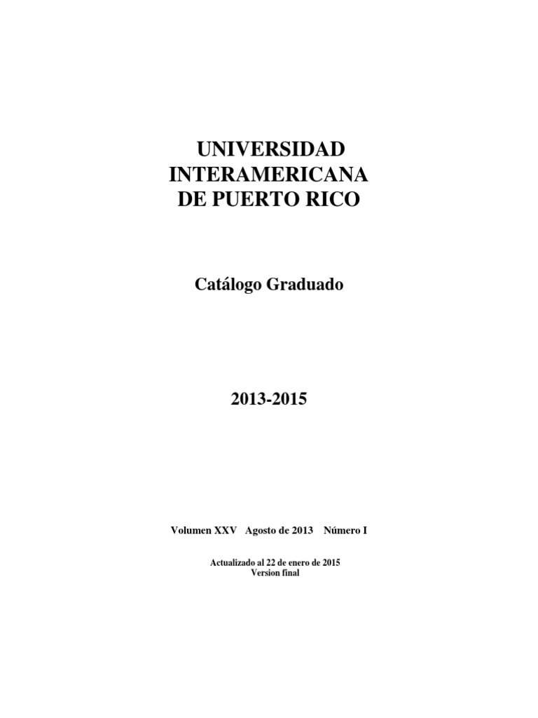 Catalogo Graduado 2013 2015 22 Enero 2015