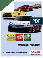 Catalogo Sonax