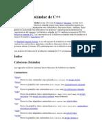 Biblioteca estándar de C++