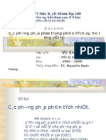 Phan Tich Nhiet