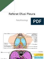 Referat Efusi Pleura
