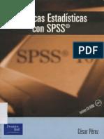 Tecnicas Estadisticas SPSS - Perez.pdf