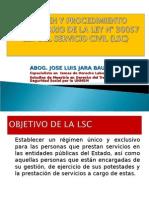 RÉGIMEN DISCIPLINARIO EN LA LEY DEL SERVICIO CIVIL (I PARTE)