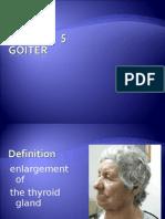 Lecture 5, Goiter