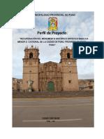 Recuperación Basilica