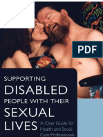 SUPPORTING DISABLED PEOPLE WHIT THEIR SEXUAL LIVES