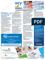 Pharmacy Daily for Tue 03 Mar 2015 - New compounding guidelines, TGA lens warning, Skydiving pharmacy, Guild Update, and much more
