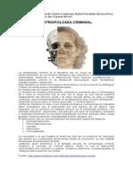 Antropología Criminal de Cesare Lombroso, Ferry y Garofalo