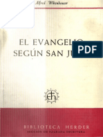 Wikenhauser, Alfred - El Evangelio Segun San Juan