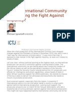 Is the International Community Abandoning the Fight Against Impunity