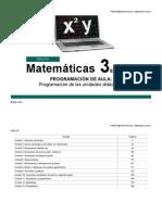 Plan de Area Matematica 8 2015