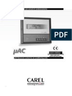 Carel MAC User Manual Eng