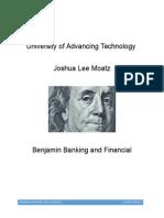 Benjamin Banking and Financial Final Report