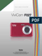camara digital vivitar F027 Manual de Usuario (prueba)