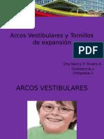 Arcos Vestibulares y Tornillos de expansión.pptx