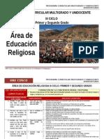 III Ciclo Educación Religiosa Dre Cusco