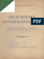 Quatrième Internationale I, Nº 1, 1942