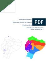 Zona de planificación 2 Ecuador