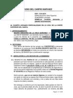 Contestación de Demanda y Reconvención Mejor Derecho de Posesión - Luis Del Carpio Narvaez