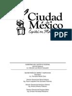19 Libro 9a Tomo Unico Particularidades de La Ley de Obras Públicas Del Distrito Federal y Su Reglamento