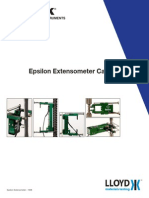 Epsilon Extensometer Catalog