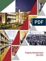 IBA Program Announcement 2014 15