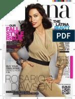 Rosario Dawson-Latina Magazine Sept 2012