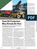 Peak Oil 2011