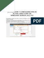 1. Manualinstalacionad Ws2012 INFORME