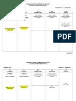 ADN Class Schedule - Spring 2014